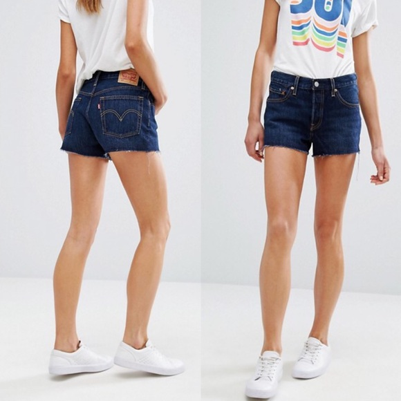 6f8760c9c9c Levi's Shorts | Levis Vintage 501 High Rise Cutoff Jean | Poshmark